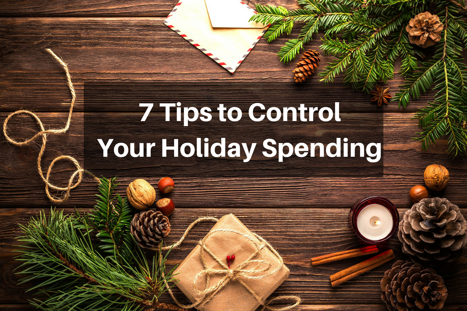 control holiday spending